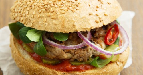 Chilli turkey burgers