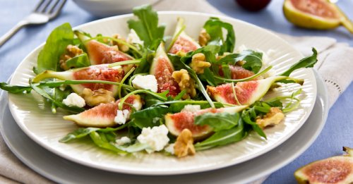 Fig & walnut salad
